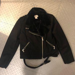 Jackets & Blazers - NWOT Faux Fur Utility Jacket